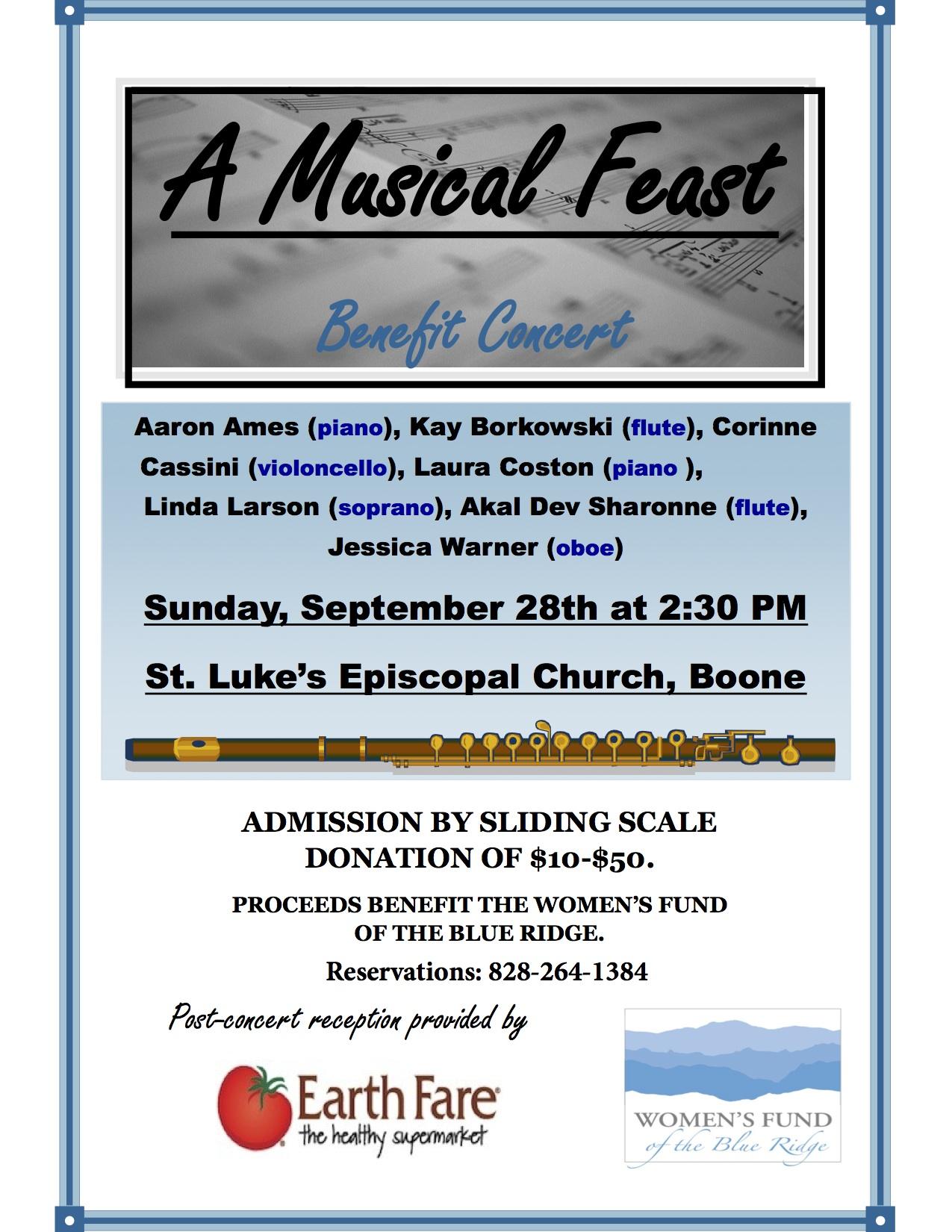 A Musical Feast benefit concert